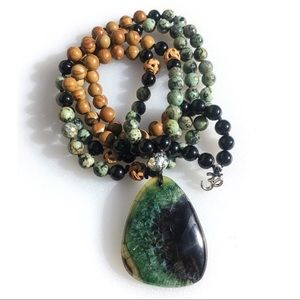 Jewelry - 108 Mala Necklace, Prayer Beads, Yoga, Meditation